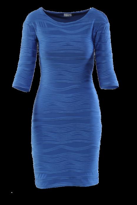 2/3-os ujjú ruha, kék