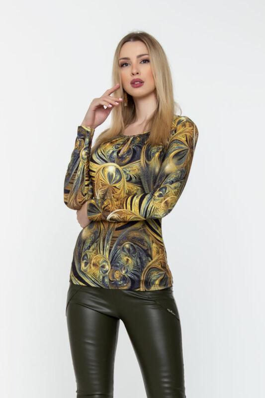 Reni póló - arany mintás