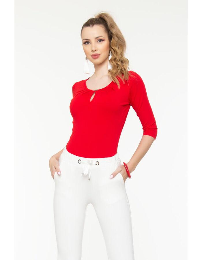 Reni póló - piros