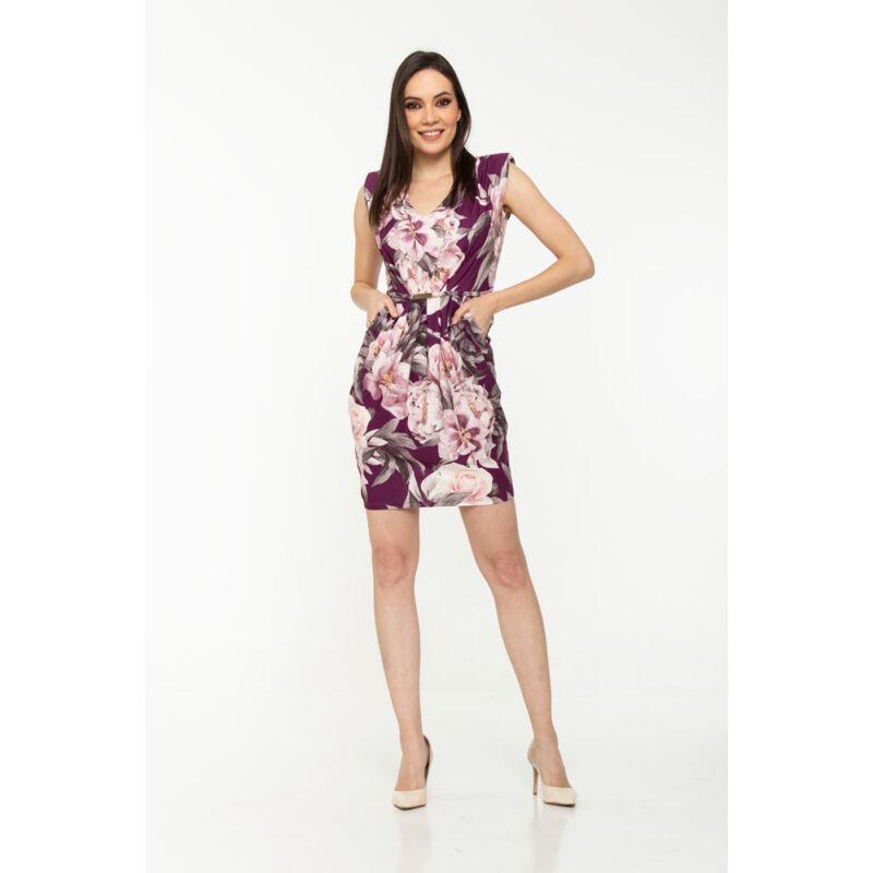 Claudia ruha - lila virágos