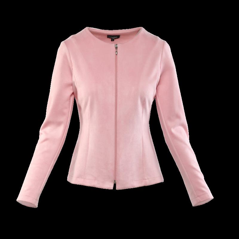 Rita kabátka - rózsaszín