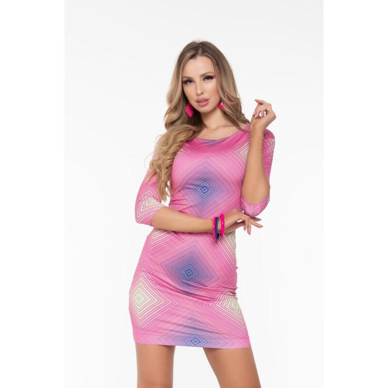 Elena ruha - pink tónusos