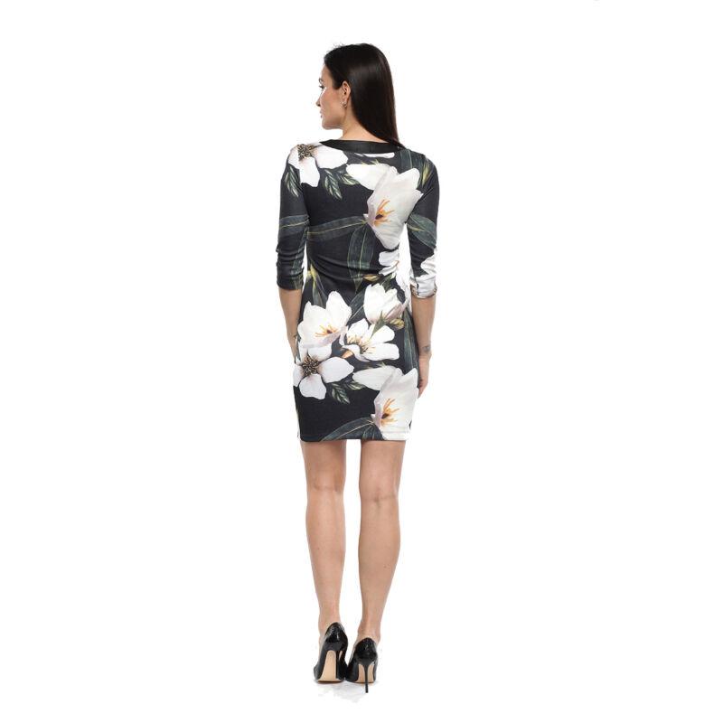 Nagy virágmintás ruha